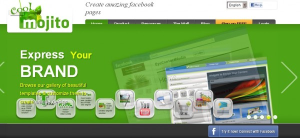 create stylist facebook page at cool mojito