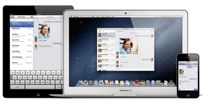 messages1 Mac OS X Mountain Lion Developers Preview is now Available for Download