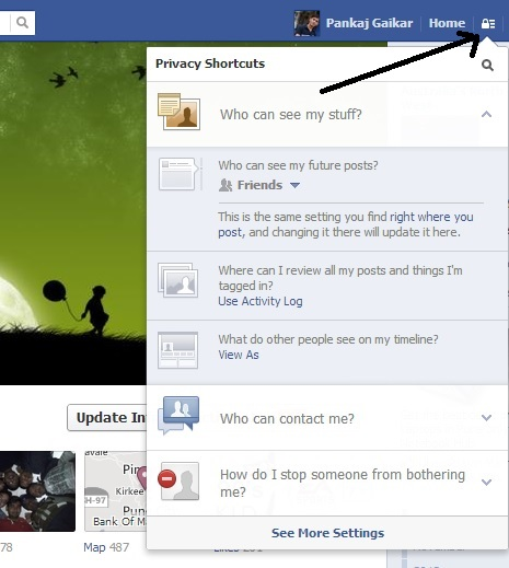 New Privacy settings