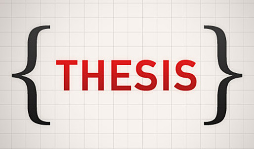 master course thesis You can expect to complete at least nine courses (36 units) for a master's degree  able to then submit a master's thesis  point in your master's studies.